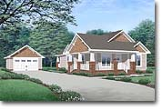 Nina - Craftsman Home Plan