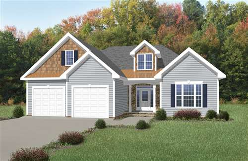 Nadia - a craftsman home design with a home office and recreation room