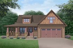 Piper - 1959-square-feet Craftsman 1 1/2 story home plan